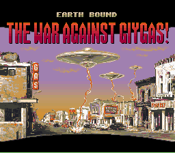 Earthbound - Title - User Screenshot